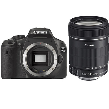 Canon EOS 550D + Objectif EF-S 18-135 MM IS