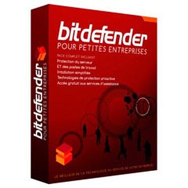 BitDefender pour Petites Entreprises BitDefender pour Petites Entreprises - Licence 1 serveur + 10 postes 2 ans (français, WINDOWS)