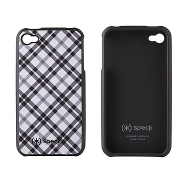 Speck Fitted Case Speck Fitted Case - Etui pour iPhone 4 (coloris blanc)