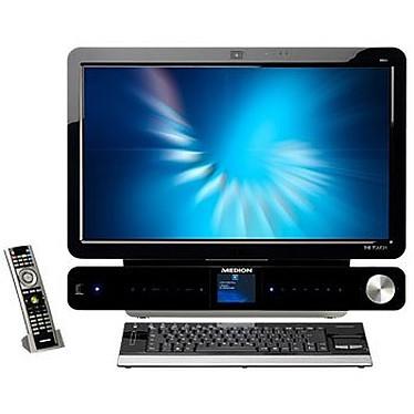 "Medion The Touch X9613 MD 97257 - Intel Core 2 Quad Q9000 - 4 Go - 24"" Medion The Touch X9613 - Intel Core 2 Quad Q9000 4 Go 1 To LCD 24"" Tactile Combo Lecteur Blu-ray/Graveur DVD Wi-Fi N Tuner TV Webcam Windows 7 Premium 64 bits"