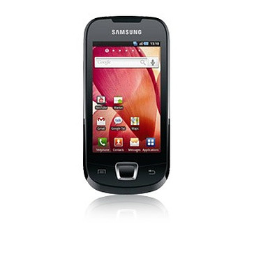 "Samsung i5800 Galaxy TEOS Smartphone 3G+ avec écran tactile 3.2"" sous Android"