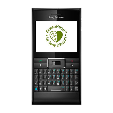 """Sony Ericsson Aspen QWERTZ Noir Sony Ericsson Aspen QWERTZ Noir - Smartphone 3G+ avec écran tactile 2.4"""" et clavier complet sous Windows Mobile"""