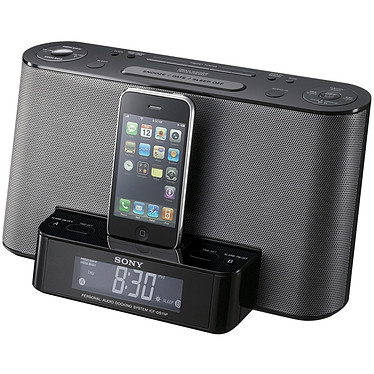 Sony ICF-DS11iP Sony ICF-DS11iP - Station d'accueil pour iPod/iPhone 3GS