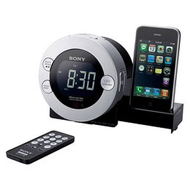 Sony IFC-C7iP Sony IFC-C7iP - Radio réveil iPod/ iPhone 3G avec télécommande