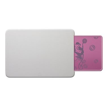 Logitech Portable Lapdesk N315 Blanc/Rose Support ergonomique pour ordinateur portable
