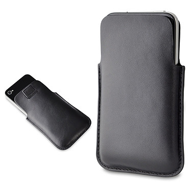 Muvit Etui Pocket Slim cuir Noir (pour iPhone 4) Muvit Etui Pocket Slim cuir Noir (pour iPhone 4)