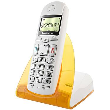 Sagem D27T Jaune Sagem D27T Jaune - Téléphone sans fil DECT (version française)