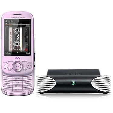 Sony Ericsson Zylo Rose + Mini enceintes MS410 Sony Ericsson Zylo Rose + Mini enceintes MS410