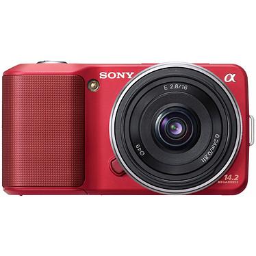 Avis Sony NEX-3 Rouge + Objectif 16 mm