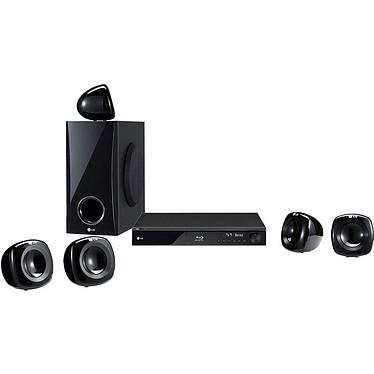 LG HB405SU LG HB405SU - Ensemble Home Cinéma 5.1 Blu-ray DLNA avec sortie HDMI 1080p