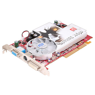 Sapphire Radeon X1650 512 MB Sapphire Radeon X1650 512 MB - 512 Mo TV-Out/DVI - PCI Express (ATI Radon X1650)