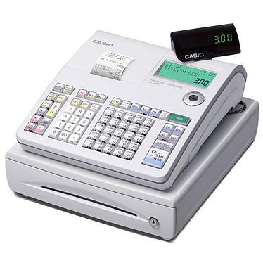 Casio SE-S300SB Casio SE-S300SB - Caisse enregistreuse avec imprimante thermique - Petit tiroir