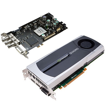 PNY Quadro 5000 SDI (Output) PNY Quadro 5000 SDI (Output) - 2.5 Go DVI/Dual DisplayPort/SDI(BNC) - PCI Express (NVIDIA Quadro 5000)