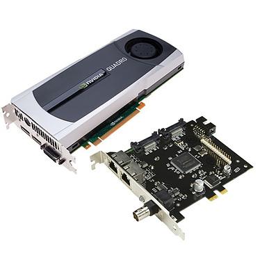 PNY Quadro 5000 G-Sync Board PNY Quadro 5000 G-Sync Board - 2.5 Go DVI/Dual DisplayPort/BNC - PCI Express (NVIDIA Quadro 5000)