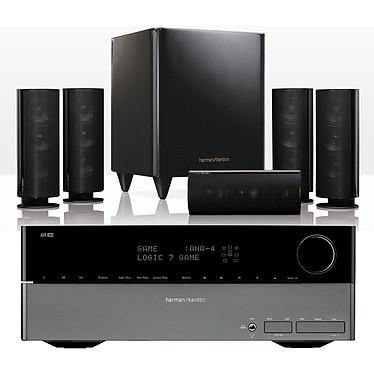 Harman Kardon AVR 360 + HKTS 30 Harman Kardon AVR 360 + HKTS 30 - Ampli-tuner Home Cinema 7.1 avec HDMI et Décodeurs HD + Pack d'enceintes 5.1