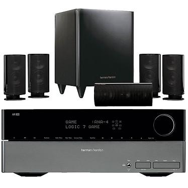 Harman Kardon AVR 260 + HKTS 20 Harman Kardon AVR 260 + HKTS 20 - Ampli-tuner Home Cinema 7.1 avec HDMI et Décodeurs HD + Pack d'enceintes 5.1