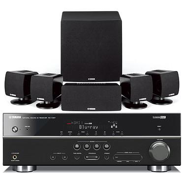 Yamaha AV-4117 Noir Yamaha AV-4117 Noir - Ensemble Ampli-tuner Home Cinema 5.1 3D Ready avec HDMI 1.4 et Décodeurs HD + Enceintes 5.1