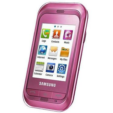 "Samsung Player Mini GT-C3300 Rose Smartphone 2G avec écran tactile 2.4"""