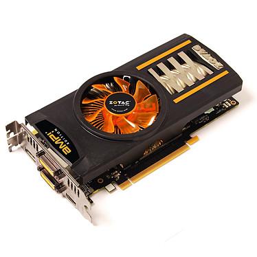 ZOTAC GeForce GTX460 AMP! Edition 1 GB ZOTAC GeForce GTX460 AMP! Edition - 1024 Mo Dual DVI/HDMI/DisplayPort - PCI Express (NVIDIA GeForce avec CUDA GTX 460)