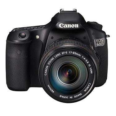 """Canon EOS 60D + Objectif EF-S 17-85mm f/4-5.6 IS USM Réflex Numérique 18 MP - Ecran 3"""" - Vidéo Full HD + Objectif EF-S 17-85mm f/4-5.6 IS USM"""
