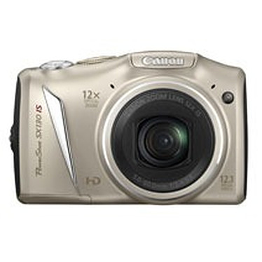 Canon PowerShot SX130 IS Argent Canon PowerShot SX130 IS Argent - Appareil photo 12.1 MP - Zoom 12x - Vidéo HD