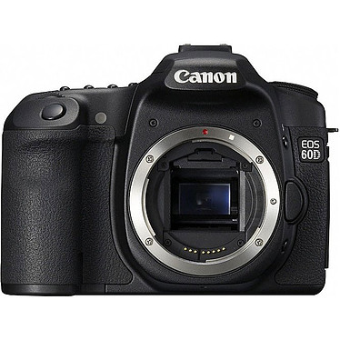 Canon EOS 60D + Objectif EF-S 18-55mm f/3.5-5.6 IS pas cher