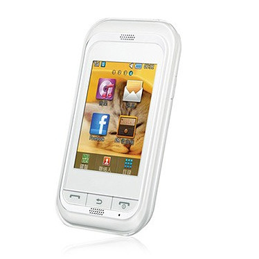 """Samsung Player Mini GT-C3300 Blanc Smartphone 2G avec écran tactile 2.4"""""""