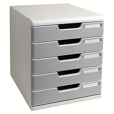 Multiform MODULO A4 5 tiroirs Gris Multiform MODULO A4 - Système de classement  5 tiroirs Gris