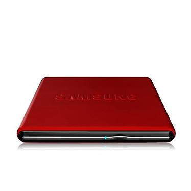Samsung SE-S084D/TSRS - Graveur DVD externe rouge Samsung SE-S084D/TSRS - DVD(+/-)RW/RAM 8/8/8/6/5x DL(+/-) 6/6x CD-RW 24/24/24x Rouge Externe
