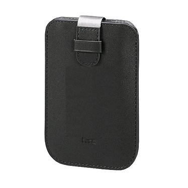 HTC PO S530 - Housse en cuir noir pour Wildfire & HD Mini HTC PO S530 - Housse en cuir noir pour Wildfire & HD Mini