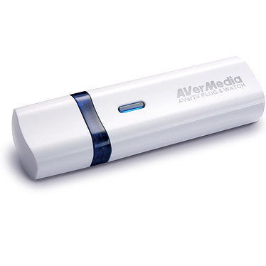AVerMedia AVerTV PLUG & WATCH AVerMedia AVerTV PLUG & WATCH - Clé USB Tuner TNT HD POUR PC ET APPLE MAC