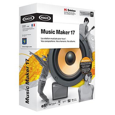 Magix Music Maker 17 MAGIX Music Maker 17 (français, WINDOWS)