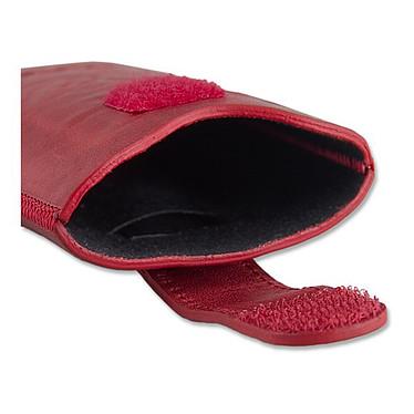 Avis Bugatti SlimCase Unique L rouge chili - Etui en cuir universel (pour téléphones portables)