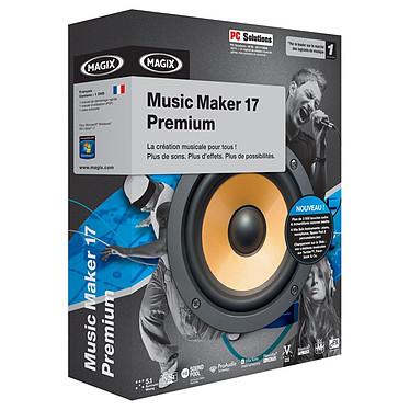 Magix Music Maker 17 Premium MAGIX Music Maker 17 Premium (français, WINDOWS)