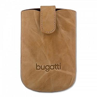 Bugatti SlimCase Unique L sable - Etui en cuir universel (pour téléphones portables) Bugatti SlimCase Unique L sable - Etui en cuir universel (pour téléphones portables)
