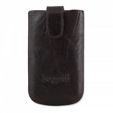 Bugatti SlimCase Unique M marron tabac - Etui en cuir universel (pour téléphones portables) Bugatti SlimCase Unique M marron tabac - Etui en cuir universel (pour téléphones portables)