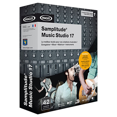 MAGIX Samplitude Music Studio 17 MAGIX Samplitude Music Studio 17 (français, WINDOWS)
