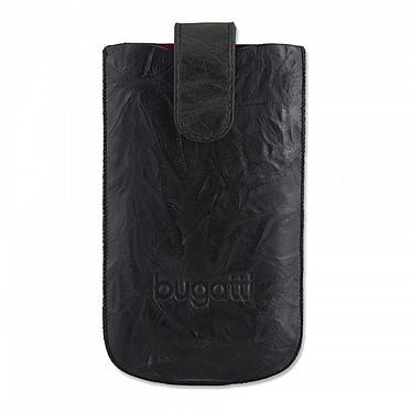 Bugatti SlimCase Unique M noir carbone - Etui en cuir universel (pour téléphones portables) Bugatti SlimCase Unique M noir carbone - Etui en cuir universel (pour téléphones portables)