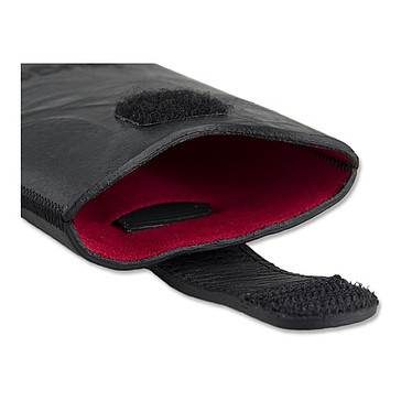 Avis Bugatti SlimCase Unique M noir carbone - Etui en cuir universel (pour téléphones portables)