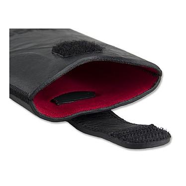 Avis Bugatti SlimCase Unique L noir carbone - Etui en cuir universel (pour téléphones portables)
