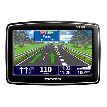 """TomTom XL Live IQ Routes Europe + 12 mois d'abonnement  """"Live"""" TomTom XL Live IQ Routes Europe - GPS 42 pays d'Europe Ecran 4.3"""" + 12 mois d'abonnement aux Services """"Live"""""""