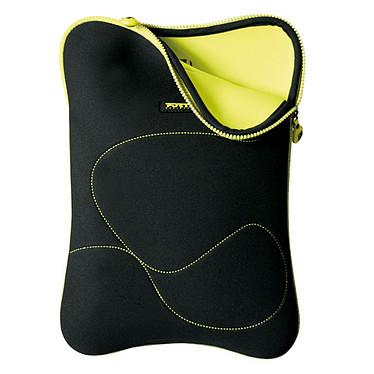 PORT Designs Delhi 10/12 (jaune) Housse pour ordinateur portable (jusqu'à 12'') - (coloris noir/jaune)