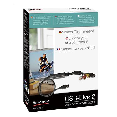 Hauppauge USB-Live2 Système de capture vidéo analogique sur port USB