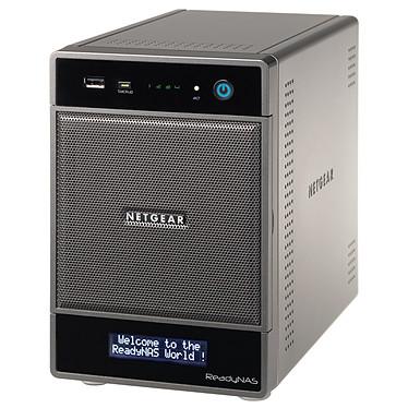 Netgear ReadyNAS Ultra 4 2To (2x 1 To) Serveur NAS multimédia 4 baies avec 2 disques 1 To (non montés)