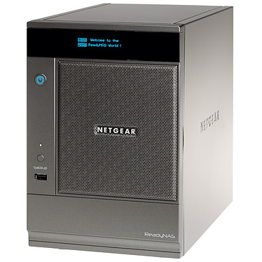 Netgear ReadyNAS Ultra 6 baies 4 To (4x 1 To) Serveur NAS multimédia 6 baies avec 4 disques 1 To (non montés)