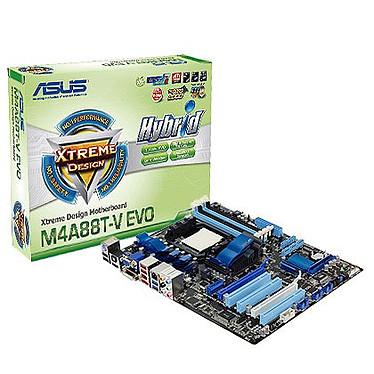 ASUS M4A88T-V EVO Carte mère ATX Socket AM3 AMD 880G
