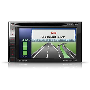 Pioneer AVIC-F920BT Pioneer AVIC-F920BT - Autoradio DVD / DivX MP3 Bluetooth avec écran 6 pouces, entrée pour carte SD, contrôle iPod/ipHone, USB