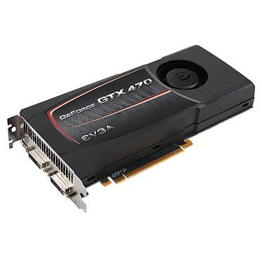EVGA GeForce GTX 470 SuperClocked 1280 MB EVGA GeForce GTX 470 SuperClocked - 1280 Mo Dual DVI/Mini HDMI - PCI-Express (NVIDIA GeForce avec CUDA GTX 470)