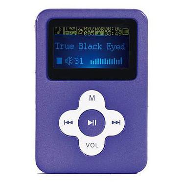 """ClipSonic MP105 Violet - 2 Go ClipSonic MP105 Violet - Lecteur MP3 2 Go Ecran 1,8"""""""