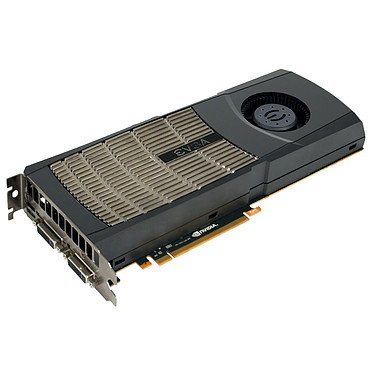 EVGA GeForce GTX 480 SuperClocked+ EVGA GeForce GTX 480 SuperClocked+ - 1536 Mo Dual DVI/Mini HDMI - PCI-Express (NVIDIA GeForce avec CUDA GTX 480)